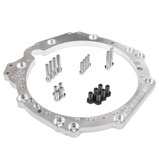 Adapter skrzyni biegów Toyota 1UZ/3UZ - BMW M50, M52, M57 - GRUBYGARAGE - Sklep Tuningowy